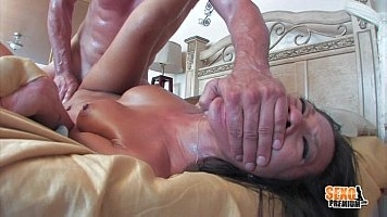 Asa Akira Waking Up Brutal Husband Toni Ribas With Blowjob