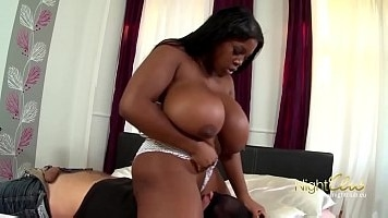 BIG BLACK BOOBS - BUSTY BBW