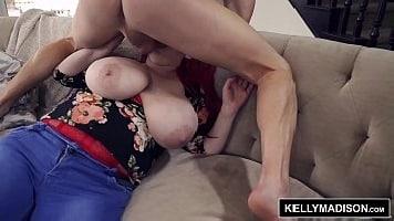 Big Tits Redhead MILF Takes It Deep