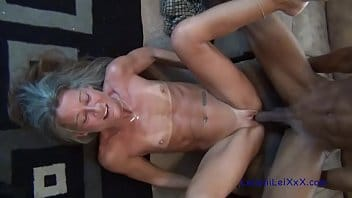 Damn Delicious Old Granny Horny For African BBC