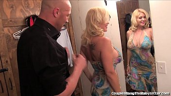 Horny Couple Tries Threesome With Teen Naughty sitter