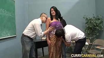 Indian Student Classroom Gangbang
