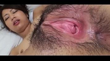 Japanese Creamy Hairy Pussy