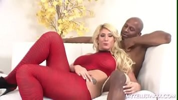 White Blonde Devour A Brutal BBC