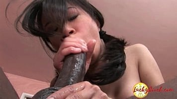 Slim Asian Pierced By Huge BBC