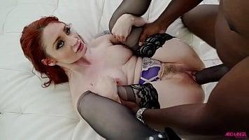 Violet Monroe Split By A BBC