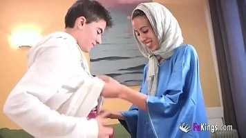 Skinny Teen Hijab Arab Girl Muslim Pussy Screwed